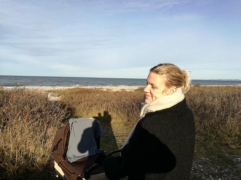 Strand, solskin og nærmest nul grader