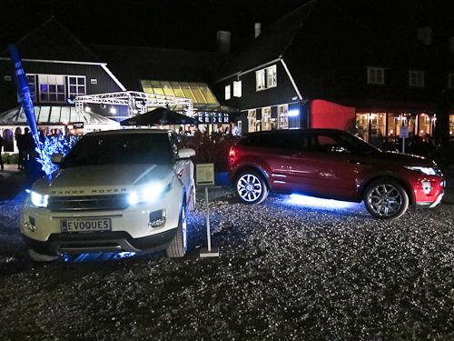 Luxury Aficionados og Range Rover holdt gilde - et herligt et af slagsen med fokys på den nye Evoque