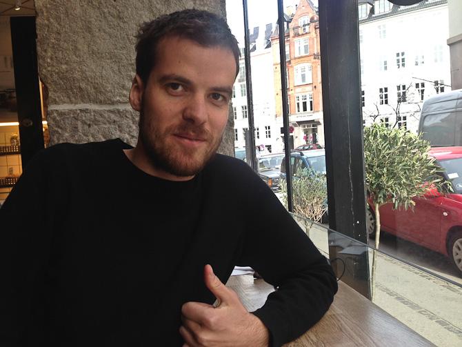 Mød Stoffer. Det er ham, der står bag Morgenposten på Euroman.