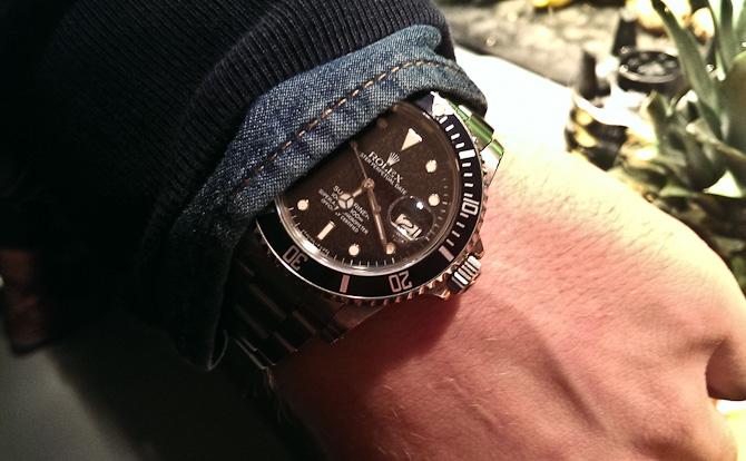 Rolex og denim