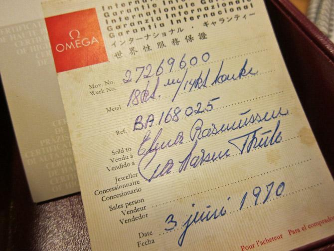 Sirlig håndskrift, som har holdt i 44 år