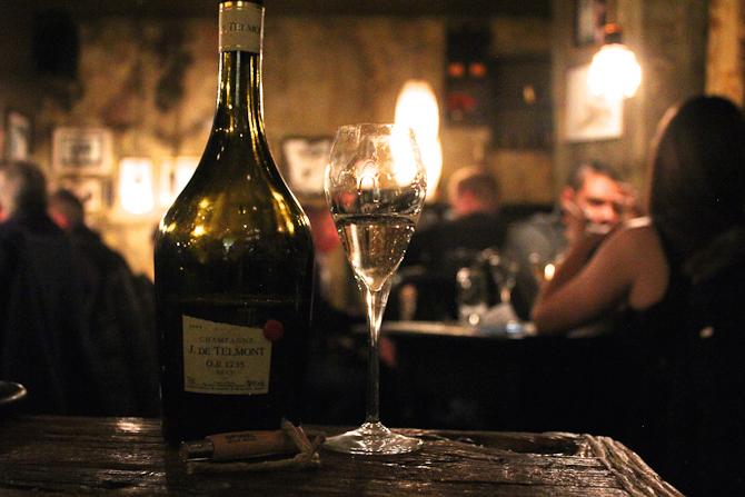 Stemning og... champagne