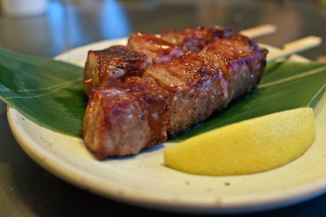 Der var det længe ventede og fine kød. Nyd synet. Og smagen hvis du kigger forbi.