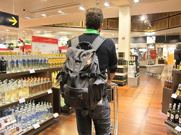 Vi drog mod øst - og med en praktisk og langt mere brugbar håndbagage på ryggen.