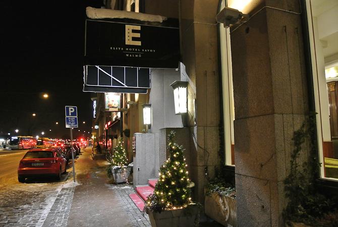 Et par afslappende døgn på Elite Hotel Savoy Malmø