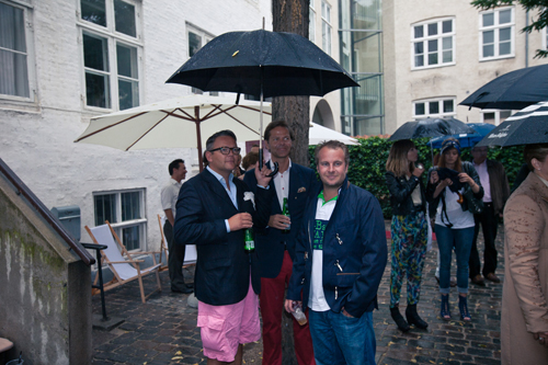 Mr. Glahn, Friis og Uffe Holm.