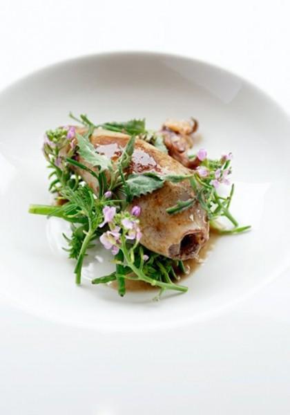 Babyblæksprutte fyldt med braisseret okse. Og meget mere.