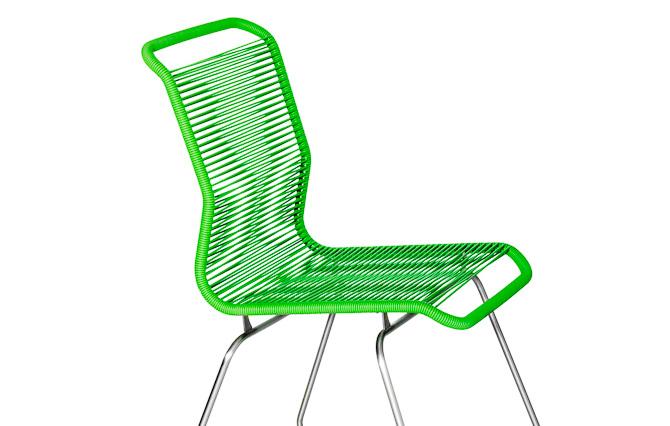 Svært Tivoli stolen - en kulørt Verner Panton kreation UQ-77