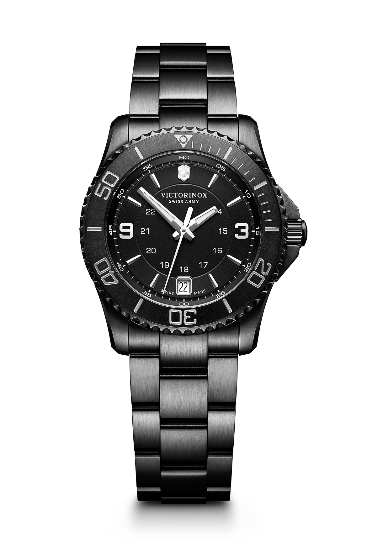 For knapt 5.000 kroner schweizisk ur: Victorinox Maverick Black Edition
