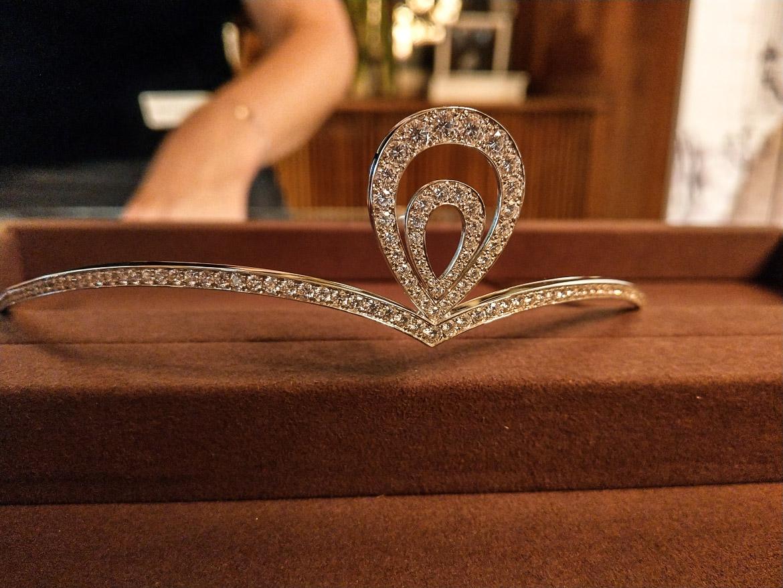 tiara diamant
