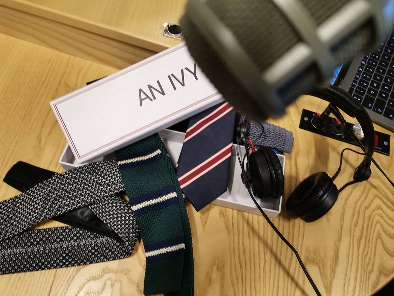 an ivy mænd med slips