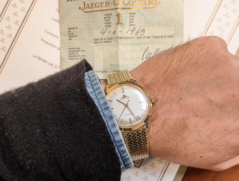 En tidsrejse med et 55 år gammelt guld ur fra Jaeger-LeCoultre E.386